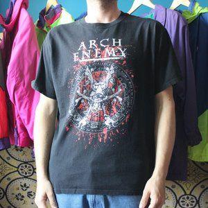 2012 Arch Enemy Tyrants of Evil Tour T-Shirt
